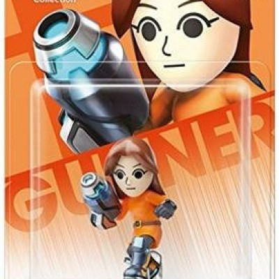 Amiibo MII Gunner (Super Smash Bros. Coll.) WII U