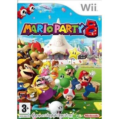 Foto van Mario Party 8 WII