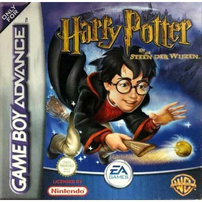 Foto van Harry Potter En De Steen Der Wijzen Met Doosje GBA