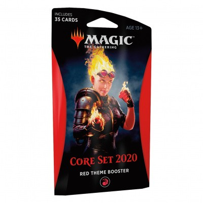 Foto van TCG Magic The Gathering Red Theme Booster Core 2020 MAGIC THE GATHERING