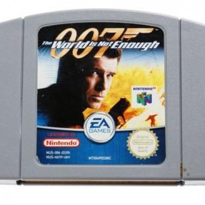 Foto van 007 The World Is Not Enough (Losse Cassette) N64