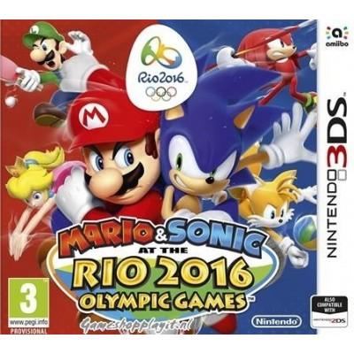 Mario & Sonic Rio 2016 3DS