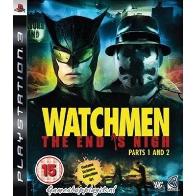 Watchmen The End Is Nigh Part 1 And 2 PS3