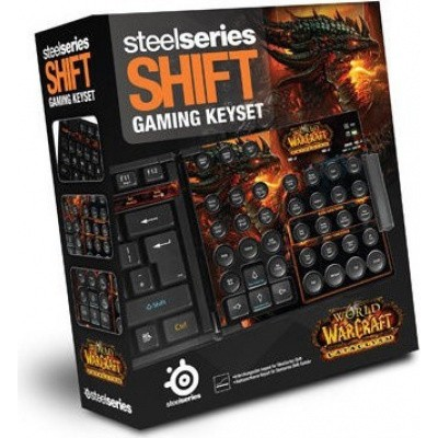 Foto van Steelseries Shift Gaming Keyset World Of Warcraft Cataclysm PC