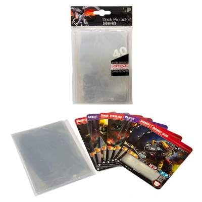 TCG Sleeves Oversized Clear SLEEVES