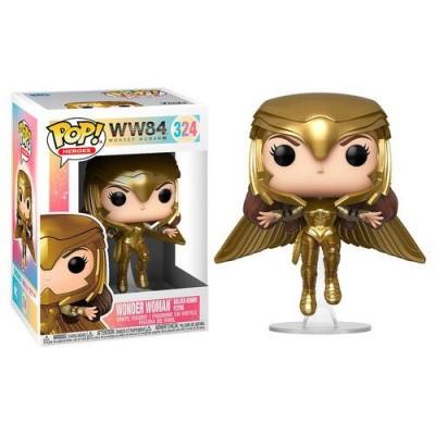 Foto van Pop! Heroes: DC Wonder Woman 1984 - Wonder Woman Gold Flying FUNKO