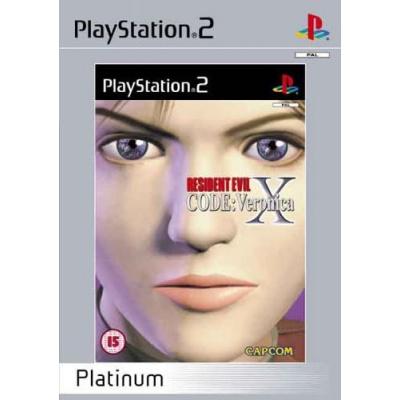 Foto van Resident Evil: Code Veronica X (Platinum) PS2