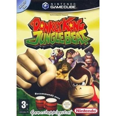 Foto van Donkey Kong Jungle Beat Nintendo GameCube