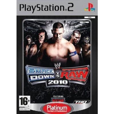Foto van Smackdown Vs Raw 2010 Platinum PS2