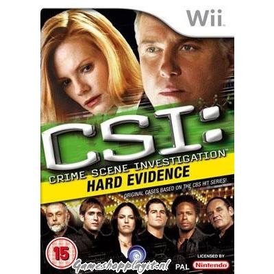 Csi Hard Evidence WII