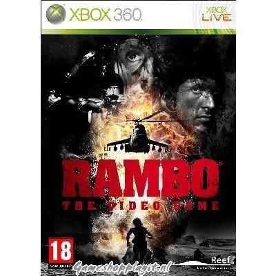 Foto van Rambo The Video Game XBOX 360