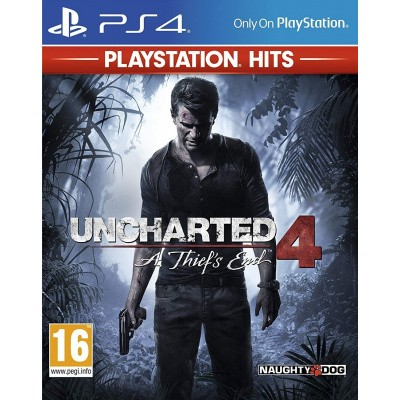Uncharted 4: A Thief's End (PlayStation Hits) PS4