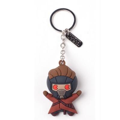 Foto van Marvel - Peter Quill Character 3D Rubber Keychain