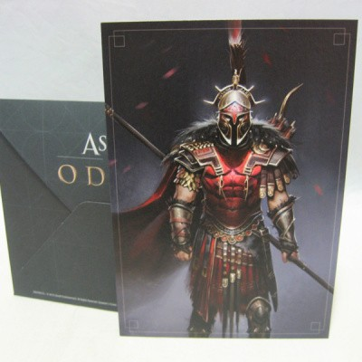Assassins creed Odyssey hero of sparta lithograph