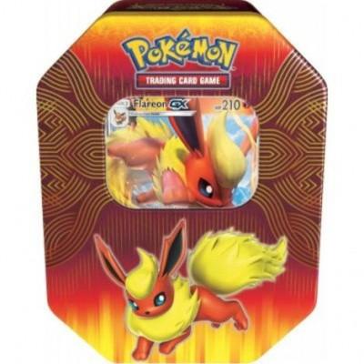 Foto van Tcg Elemental Power Tin - Flareon Pokemon Trading Card Game POKEMON