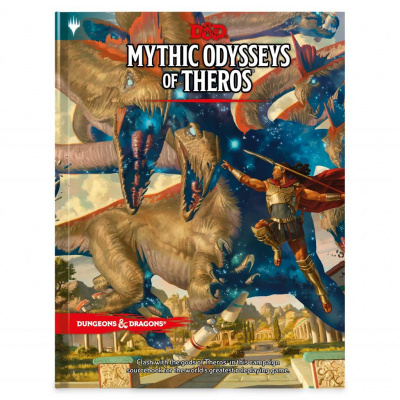Dungeons & Dragons Mythic Odysseys Of Theros DUNGEONS & DRAGONS