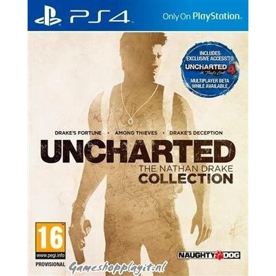 Uncharted The Nathan Drake Coll. PS4