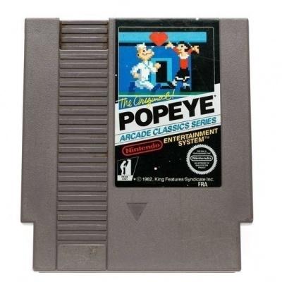 Foto van Popeye (Cartridge Only) NES