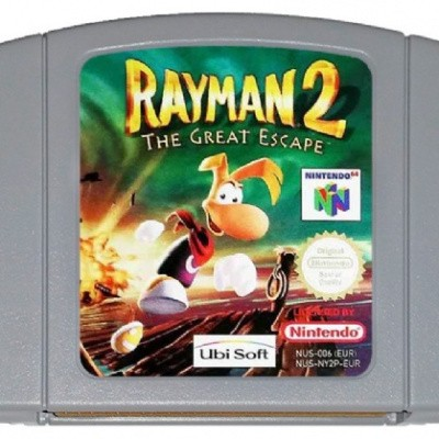 Foto van Rayman 2 The Great Escape (Losse Cassette) N64