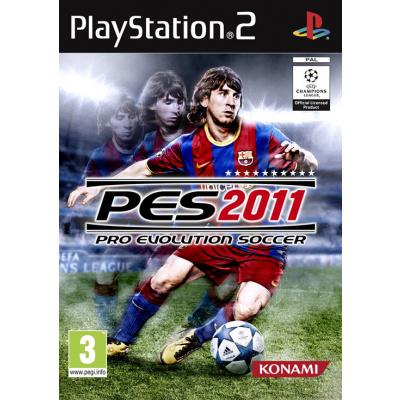 Pro Evolution Soccer 2011 (Pes 2011) PS2