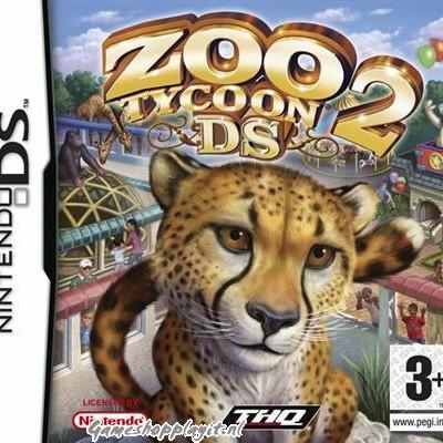 Foto van Zoo Tycoon 2 Ds NDS LOSSE GAME