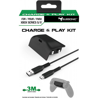 Foto van Subsonic Charge & Play Kit XBOX ONE