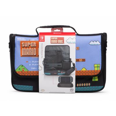 Foto van PowerA Everywhere Messenger Bag - Super Mario Edition SWITCH