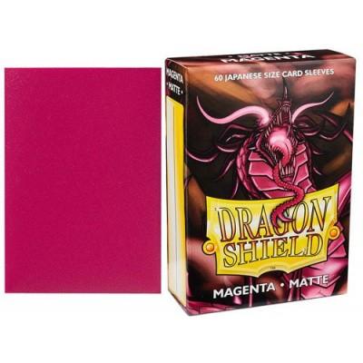 Foto van TCG Sleeves - Dragon Shield - Magenta Matte Japanese Size