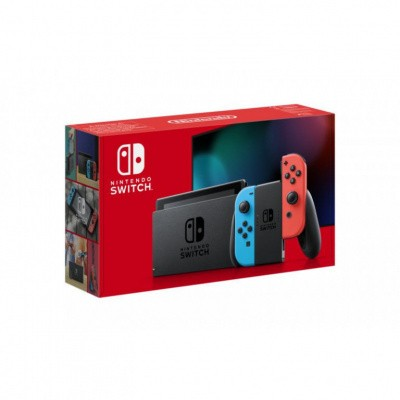 Nintendo Switch Console (2019 upgrade) Red/Blue Switch
