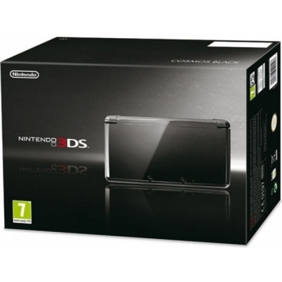 3DS Cosmos Black (BOXED) 3DS
