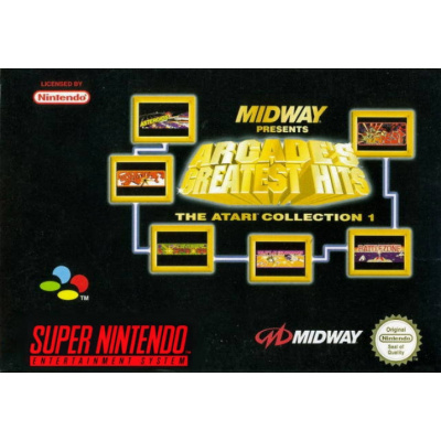 Foto van Midway presents: Arcade's Greatest Hits the Atari collection 1 SNES