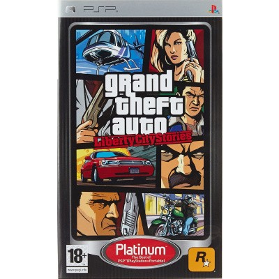 Foto van Grand Theft Auto: Liberty City PSP LOSSE GAME