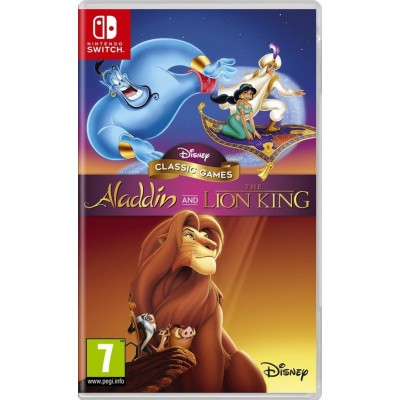 Foto van Disney Classic Games: Aladdin And The Lion King SWITCH