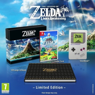 The Legend of Zelda: Link's Awakening Nintendo Switch Limited Edition