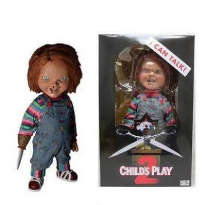 Child's Play: 15 inch Talking Menacing Chucky Doll MERCHANDISE
