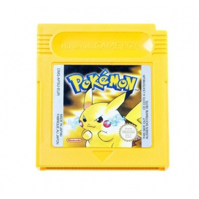 Foto van Pokemon Yellow Version - Losse Cartridge GBC