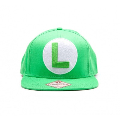 Nintendo Luigi Logo - Snapback MERCHANDISE