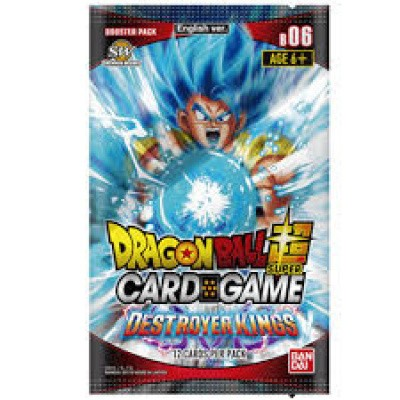 TCG Dragon Ball SCG Booster Pack Destroyer Kings
