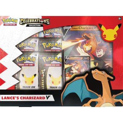 Foto van TCG Pokémon Celebrations V Collection Box - Lance's Charizard POKEMON