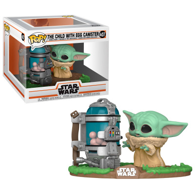 Pop! Star Wars: The Mandalorian - The Child with Egg Canister FUNKO