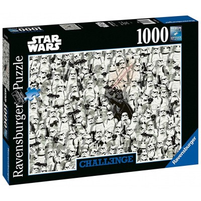 Foto van Star Wars Challenge Puzzle 1000pc PUZZEL