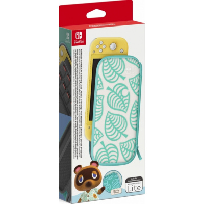 Foto van Nintendo Switch Lite Carrying Case + Screen Protector (Animal Crossing Edition) SWITCH