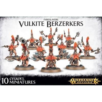 Fyreslayers Vulkite Berzerkers Warhammer Age of Sigmar