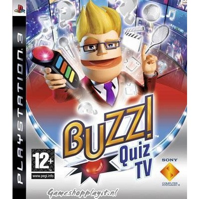 Buzz! Quiz Tv (Game Only) PS3