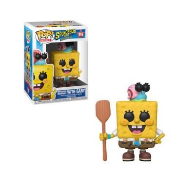 Foto van Pop! Movies: The Spongebob Movie - Spongebob With Gary In Camping Gear FUNKO
