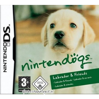 Nintendogs Labrador & Friends NDS