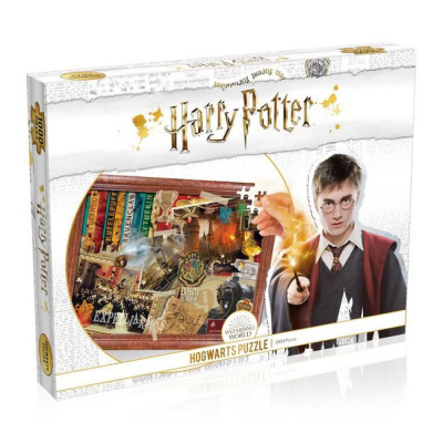 Foto van Harry Potter Hogwarts Puzzle 1000pc PUZZEL