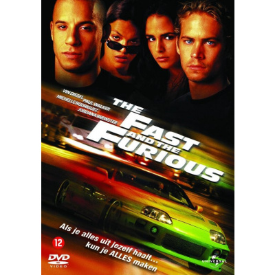 Foto van The Fast And The Furious DVD
