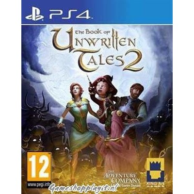 Foto van The Book Of Unwritten Tales 2 PS4
