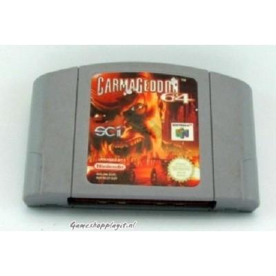 Foto van Carmageddon 64 (Losse Cassette) N64